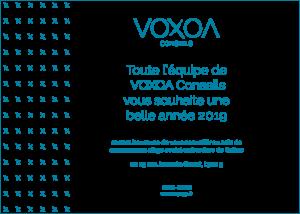 Voxoa vous souhaite une bonne année !