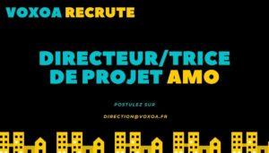 RECRUTEMENT - DIRECTEUR/TRICE DE PROJET